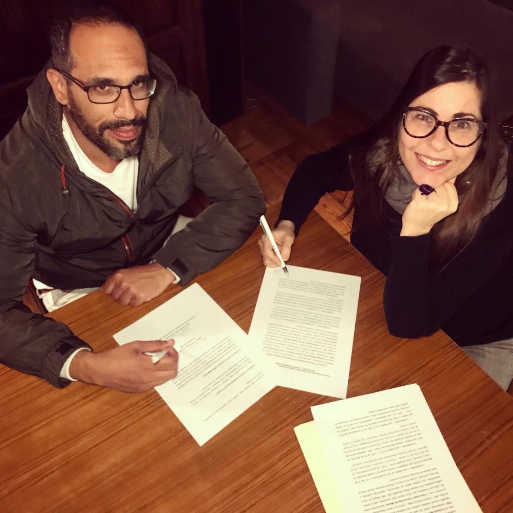 Sergio de Carvalho e Aline Yasmin